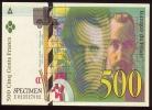 CPM  Représentation D'un Billet De 500 Frs Pierre & Marie Curie - Monnaies (représentations)