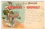 FEMME LIVREUSE De BIERE à BICYCLETTE Par OTTMAR ZIEHER - CYCLE BEER - VELO - Ilustradores & Fotógrafos