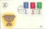 Lettre  Israel 1957  Oblitérée à Gaza  (297) - Israel