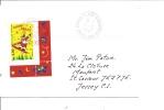 Lettre   France Pour Jersey  2000   (441) - France
