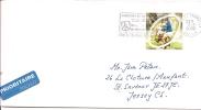 Lettre France Pour Jersey 2000 (466) - France