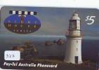 Télécarte AUSTRALIE PHARE (327) Telefonkarte * LEUCHTTURM * VUURTOREN LIGHTHOUSE LEUCHTTURM FARO FAROL Phonecard - Phares