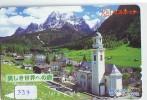 Télécarte Japon PHARE (337) Telefonkarte Japan LEUCHTTURM * VUURTOREN LIGHTHOUSE LEUCHTTURM FARO FAROL Phonecard - Phares