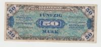 GERMANY ALLEMAGNE 50 MARK 1944 VF P 196b 196 B - [ 5] 1945-1949 : Occupazione Degli Alleati