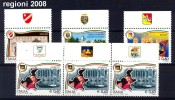 ITALIA -   Regioni 2008 - 2001-10:  Nuovi