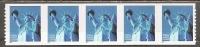 USA. Scott # 3453 MNH Coil Strip Of 5 Pl # 1111. Statue Of Liberty 2000 - Roulettes (Numéros De Planches)