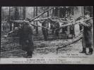 Région De L'ARGONNE - Transport Du Bois Par Nos Poilus - Construction Des Tranchées Et Huttes - Guerre 1914-1915 - Oorlog 1914-18