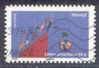 N°534 Terre Et Animaux Oblitéré - Luchtpost