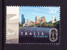 2006. AUSTRALIAN DECIMAL. 50 Years On. 50c. The 1956 Melbourne Olympics. Yarra River. Cont. FU. - 2000-09 Elizabeth II