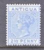 Antigua  14  Lt. Blue  *  Wmk. CA - Antigua & Barbuda (...-1981)
