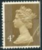 1967-1970 - Europe - Grande - Bretagne -  Elisabeth II  4 P Vert - - 1952-.... (Elisabeth II.)