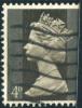 1967-1970 - Europe - Grande - Bretagne - Elisabeth II 4 P Brun Noir - - Machin-Ausgaben