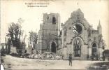 FRAMERVILLE  (Somme). L´église - Frankreich