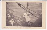 à Bord . Embarquement En Berline / Texte Au Dos : Comment J'ai Embarqué à COTONOU - Dahomey