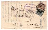 Lettera Fra Sindaci Da Castelfranco Veneto A Loria. 26/02/1924 - Storia Postale