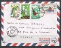 NOUVELLE-CALEDONIE ENVELOPPE AVEC N°345,348,349 Et 352 Avec Cachet De Nouméa