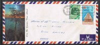 NOUVELLE-CALEDONIE ENVELOPPE AVEC N°382 Et AERIEN N°132 Avec Cachet De Nouméa