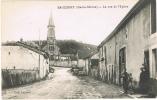 Saucourt - La Rue De L'église - Frankreich