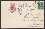 France CPA 3085. Panorama De PARIS DEPART 1909 To LIEGE W. Deluxe LIEGE ARRIVEE 1909 Timbre-Taxe T-Cancelled Postage Due - Portomarken