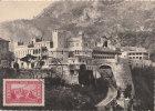 RARE CARTE MAXIMUM  PALAIS PRINCIER DE MONACO  1938 - Châteaux