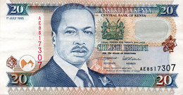 1978 Kenia 5 Shillings Note P.15 UNC - Kenya