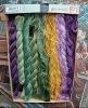 Ancienne Boite De 8 écheveaux Coton à Broder N° 5 B.H.V_L14 - Laces & Cloth