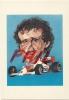 "Devo Caricaturiste, Le Sport En Fête ""Alain Prost"", Ref 1109-49 - Cartes Postales"