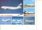 CPSM - AIR CHARTER - FILIALE D'AIR FRANCE ET D'AIR INTER - 1946-....: Moderne