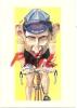 "Devo Caricaturiste, Le Sport En Fête ""Tony Rominger"", Ref 1109-55 - Radsport"