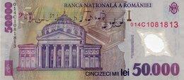 ROMANIA 50000 Lei Banknote  2000 - 2013 Polymer Note - Romania