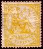 Edifil 143* Alegoría 2 Cts Amarillo De 1874 En Nuevo, Catalogo 32 Eur - Nuevos
