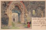 De Ci-delà Et En Brabant  - Ruines De L´abbaye De Villers - La Porte Trilobée - Lynen, Amédée-Ernest