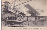 18327 Guerre 1914 1915 - Cuxhaven - Hydroplane à Bord D´un Cuirassé Anglais - HB 64 . Marine Guerre Avion