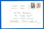 Timbre Sur Lettre (7067) - Marcophilie (Lettres)