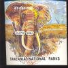 TANZANIA   1192  MINT NEVER HINGED SOUVENIR SHEET OF ANIMALS  #  1232  ( - Timbres