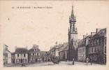 18341. LE HUELGOAT - La Place Et L'église - 47 Artaud - Huelgoat