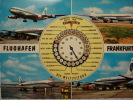 131 FRANKFURT FLUGHAFEN AIRPORT AEROPUERTO GERMANY POSTCARD OTHERS IN MY STORE - Aerodrome