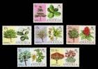 Anguilla #247-252 Flowering Trees, MNH (2.50) - Anguilla (1968-...)