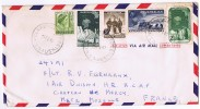 1961  Issue On Air Mail Letter To France - Australian Antarctic Territory (AAT)