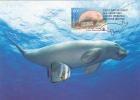 Australia-2011 50th Anniversary WWF  Dugong MC - Maximum Cards