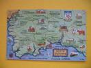 SOUTH DEVON;MAP POSTCARD - Other
