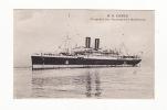 """Carte 1915 """" S S LOTUS """" PAQUEBOT DES MESSAGERIES MARITIMES - Dampfer"""