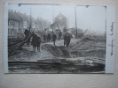 VAREGEM - VAEREGHEM Rare Carte Postale Photo Destruction De La Gare - Waregem
