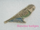Animals: Birds Parrot Melopsittacus Unbulatus - Budgerigar - Undulated Grass Parrakeet / _35_an9198 - Animals