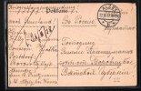 ALZEY 1917 KRIEGSGEFANGENENSENDUNG PRISONIER DE GUERRE NACH RUSSLAND RUSSIA WWI - Alzey