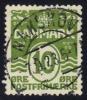 Denmark #94 Numeral, Used (0.25) - 1913-47 (Christian X)