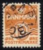 Denmark #228 Numeral, Used (0.25) - 1913-47 (Christian X)