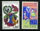 ALGERIE 1964 - CHARTE DES ENFANTS ET UNICEF 1971 - UNICEF
