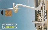 Tarjeta SPAIN CP-010 Torre De Telecomunicaciones Montjuic - España