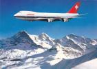 Avions - Swissair Boeing B 747 B - Switzrland - 1946-....: Moderne